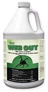 Web Out, gallon refill bottle